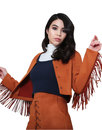 Dusty BRIGHT & BEAUTIFUL Suedette Fringe Jacket