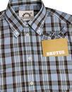 BRUTUS TRIMFIT Women's Mod Tartan Check Shirt