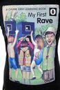 My First Rave CHUNK Retro 70s Indie Book Print Tee