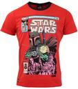 CHUNK Star Wars Comic Retro 1980s Graphic T-Shirt