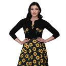 Abigail COLLECTIF Sunflower Summer Crop cardigan