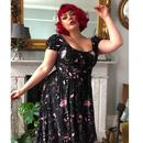 Carmen COLLECTIF Retro Tipsy Elephant Gypsy Dress