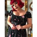 Carmen COLLECTIF Retro Tipsy Elephant Gypsy Dress