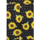 Kelsie COLLECTIF 50s Suspender Sunflower Shorts