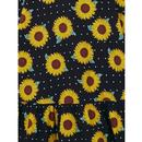 Maggie COLLECTIF Retro 60's Sunflower Swing Dress