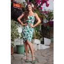 Mahina COLLECTIF Bird Of Paradise Sarong Dress