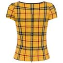 Mimi Top COLLECTIF Retro 50s Clueless Check Top
