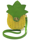 Collectif Retro 50s Vintage Pineapple Handbag Bag