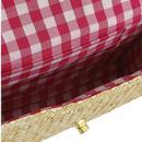Sunflower COLLECTIF Vintage Straw Summer Handbag