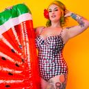 + COLLECTIF x PLAYFUL PROMISES Check Swimsuit