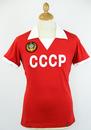 COPA FOOTBALL RETRO REPLICA CCCP FOOTBALL SHIRT