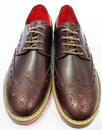 Beatnik DELICIOUS JUNCTION Retro Mod Brogues (B)