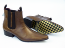 Up Beat DELICIOUS JUNCTION Brogue Beatle Boots (B)