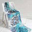 Disaster Designs In To The Wild Tiger print Scarf