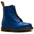 dr martens womens 1460 smooth blue boots