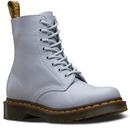 dr martens womens 1460 pascal blue moon boots