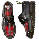 Ramsey Monk DR MARTENS Punk Tartan Stud Creepers