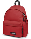 eastpak padded pakr backpack raw red