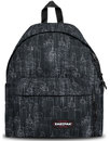 eastpak padded pakr retro black blocks backpack