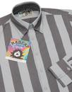 Eton MADCAP ENGLAND Retro Mod Candy Stripe Shirt