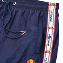 Avico ELLESSE Retro 80s Shell Suit Track Pant NAVY