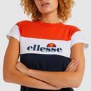 Cake ELLESSE Retro 90s Colour Block Slim Tee (N)