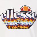 Multiz ELLESSE Men's Retro 80's 3D Logo Tee W