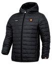 Ellesse Lombardy retro mod 70s ski jacket black