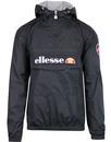 Montgomery ELLESSE Retro 80s Overhead Jacket BLACK