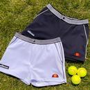 Renzo ELLESSE Retro 1980s Twill Tennis Shorts NAVY