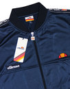 ELLESSE Mens Tape Sleeve Squad Track Top Blue
