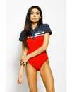 Ellesse Womens Retro 80s Polo Top Body