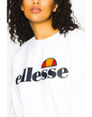 Agata ELLESSE WOMENS Retro 80s Sweat in White
