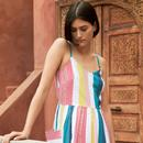 Bree EMILY & FIN Summer Rainbow Stripe Dress