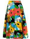 emily and fin sandy retro 50s floral circle skirt