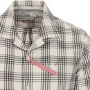 Crockett FARAH Archive Check Seersucker Shirt (TN)