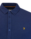 Merriweather FARAH Mod Button down Pique Polo YALE