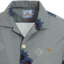 Odessa FARAH 100 Revere Collar 70s Hawaiian Shirt