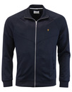 farah lancaster zip thru true navy mod