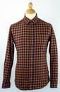 Hatton FARAH 1920 Retro Heavyweight Check Shirt GG