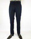 The Duke FARAH 1920 Retro Mod Hopsack Trousers (N)