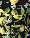 Lemon Blossom FEVER Retro Summer Prom Dress