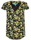 Fever Lemon Blossom Summer Top Retro T-Shirt