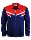 fila vintage fognini retro 1980s v-panel track top