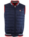 Canapine FILA VINTAGE Retro Eighties Quilted Gilet
