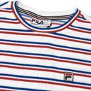 Lucio FILA VINTAGE Retro 80s Stripe Towelling Tee
