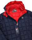 Passo FILA VINTAGE Retro Hooded Puffa Ski Jacket