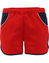 fila vintage tomas retro 1970s running shorts red
