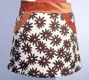 EC STAR RETRO SIXTIES MOD MINI SKIRT WOMENS RETRO