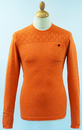 FLY53 FLY 53 BARLEY FLECK WOVEN JUMPER RETRO INDIE